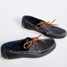 I always like the summer classics...navy sperry topsiders