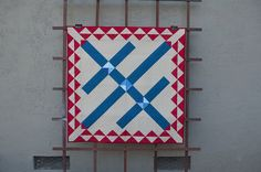 Triple X by Terri Carpenter of the quilted fox.