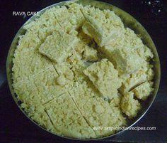Rava Cake - Semolina Cake   Simple Indian Recipes