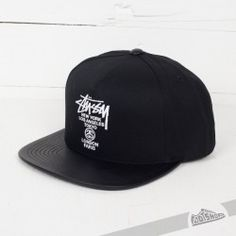 Stüssy World Tour Black