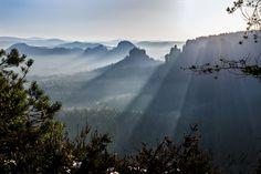 Elbsandsteingebirge, Nature Photography, Sunrise