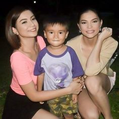 """""""Glaiza and Rhian with Rich Man, Love Couple, Love Of My Life, Rebel, Lesbian, Most Beautiful, Army, Daughter, Entertaining"""