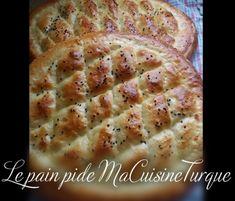 Le pain pide turc : pain du ramadan - Ma Cuisine Turque