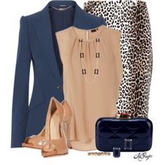 Classy with a Leopard Twist