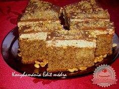 Edit szelet Nutella, Tiramisu, Banana Bread, Food And Drink, Cookies, Ethnic Recipes, Minden, Hungary, Dios