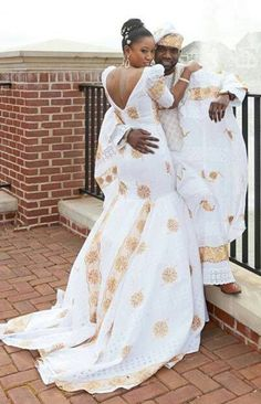 african inspired gowns | African inspired wedding #AfricaFashion #AfricanPrints #AfricanPrints ...