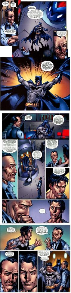 Batman's outfit problems, not as fun as the thousands of Nightwing costumes is it Dick?