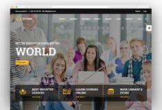 Education WordPress Theme - Eduma Training Center, Worlds Of Fun, Wordpress Theme, Education, Learning, Books, Popular, Libros, Studying