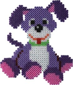 Cagnolino hama beads