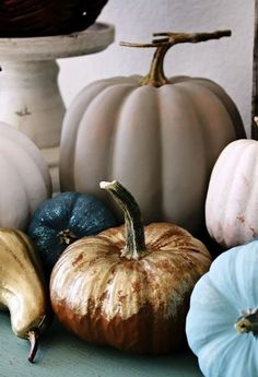 Seasonal Thanksgiving Décor Ideas With Blue_06