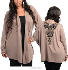 Casual Plus Fashion trendy blouses for Junior Plus size, lady plus size tops, shirt, bottoms, dresses Fashion Styles, Fashion Fashion, Womens Fashion, Winter Fashion Outfits, Fashion Clothes, Trendy Plus Size, Plus Size Women, Cute Cheap Outfits, Plus Size Sewing