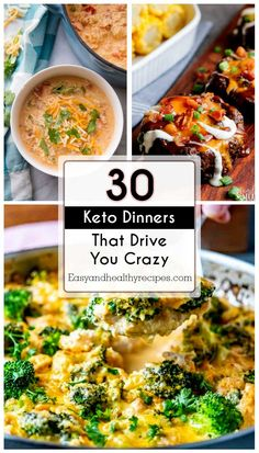 You are a newbie of keto diet and start finding something good for dinner? This post is exactly what you need. It introduces 30 keto dinners that are bound to drive you crazy. These also work with those who have been on keto and low-carb diet for a l Low Carb Recipes, Diet Recipes, Cooking Recipes, Healthy Recipes, Yummy Recipes, Healthy Fats, Recipes Dinner, Recipies, Zucchini Lasagna Recipes