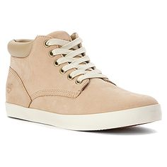Timberland Glastenbury Chukka Boot Off-White Nubuck