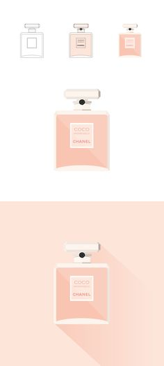 This!!! This is what I've had in my head. The Chanel logo/font (if it is a font) the blush color the gold... The square. Love everything.