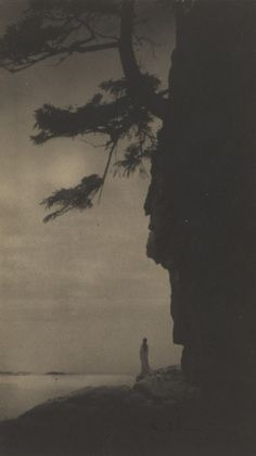 Anne Brigman helped shape American photographic traditions and was anointed by Alfred Stieglitz. Dark Photography, Vintage Photography, Black And White Photography, Robert Frank, Old Photos, Vintage Photos, Alfred Stieglitz, American Literature, American History
