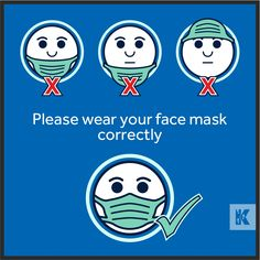 There are a few ways to wear a face mask, but only one is correct. A face mask is only effective when covering both the nose and mouth together. Thank you for helping to protect societies vulnerable from Coronavirus.  #KleenTexEurope #FaceMask #Coronavirus #COVID19 #SaveLives #MakeMoreOfYourFloor