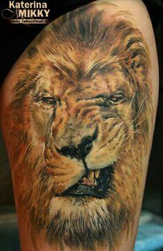 Крутой лев