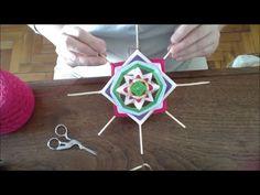 Tutorial PARTE 2 de cómo tejer un Mandala. En el video se verá el paso a paso de la confección del mismo. Esta es la segunda entrega de 3 videos. El video no...