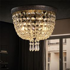 Luxury Crystal Ceiling Light CL235 Ceiling Lamp, Ceiling Lights, Remodeled Kitchens, Jhumar, Crystal Ceiling Light, Modern Luxury, Picture Show, Kitchen Remodel, Light Bulb