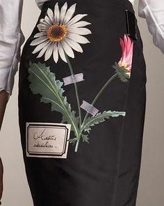 Carolina Herrera skirt.