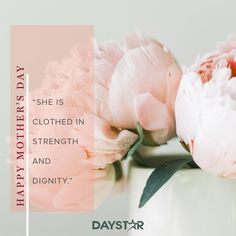 Happy Mother's Day! [Daystar.com] She Is Clothed, Happy Mothers Day, Holidays And Events, Mother's Day