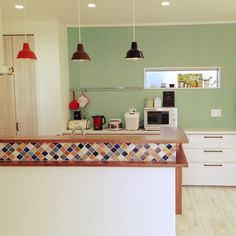 Home Tour Series: Kitchen and Dining Room Kitchen Layout, Diy Kitchen, Kitchen Interior, Home Interior Design, Interior Decorating, Muji Home, Japanese Interior, Living Styles, Japanese House