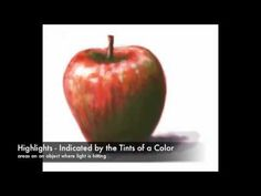good video on explaining using complementary colors for shading with colored pencils