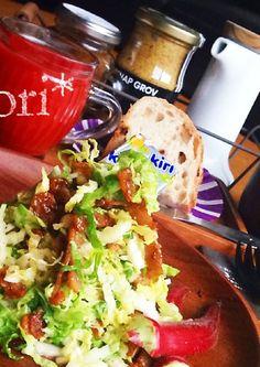 Napa Cabbage & Bacon Salad  白菜とカリカリベーコンのサラダ