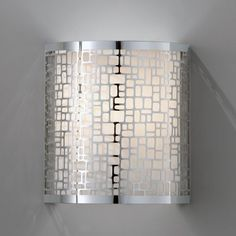 Murray Feiss WB1564CH Joplin Wall Sconce - 8W in. Chrome - contemporary - wall sconces - Hayneedle