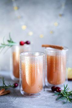 Selbstgemachter Apfelpunsch ohne Alkohol / mulled apple cider recipe / Zuckerzimtundliebe.de