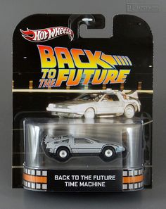 Back To The Future - DELOREAN DMC-12 TIME MACHINE 1:64 scale die cast Mint On Card by Hot Wheels Retro Entertainment / Mattel | Flickr - Photo Sharing!