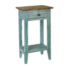 Features:  -Easy to decorate.  -Cusseta collection.  -Durable.  Shape: -Rectangle.  Design: -Table.  Style (Old): -Country/Cottage/Traditional.  Distressed: -Yes.  Base Material: -Solid Wood.  Top Mat
