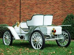 1911 Buick Model-14B Roadster retro wallpaper background
