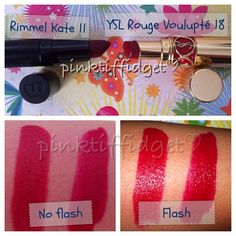 Beauty Dupe - Lipstick! YSL Rouge Volupte 18 vs. Rimmel Kate II