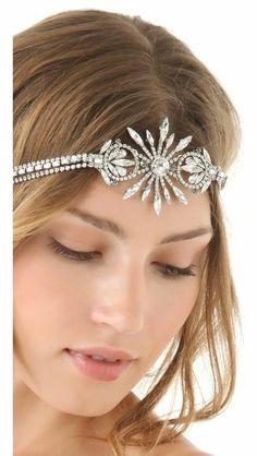 China Club Headpiece new #jewelry #trends 2014 jewelry trend