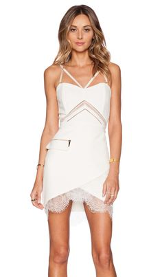 Three Floor Do It White Dress in White | REVOLVE