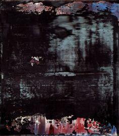 Abstract Painting 1995. 41 cm x 36 cm Oil on canvas. Catalogue Raisonné: 825-8  Carré d'Art, Museé d'Art Contemporain de Nîmes, Nîmes, France June 15, 1996 – September 15, 1996