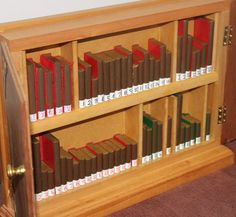 bigger bible cabinet than you normally see…I kind of like it!