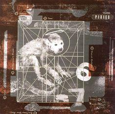1989 Vaughan Oliver design for Pixies album feat. Monkey Gone to Heaven Animals   @LouisaMQN  via @thinkstudionyc