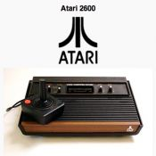 My brother and I skipped school to play frogger and donkey kong on our Atari 2600.