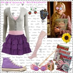 """Luna Lovegood"" by hannah-banana on Polyvore"