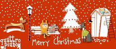Un favoloso #MerryChristmas dagli amici di #quattropiuno !!!