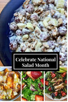 3 Healthy Salads. #healthymom #fitmom #healthandfitness #momhacks #healthandwellness #healthandnutrition #nutrition #healthymeals #healthymealplan #healthylife #fitnessfood #healthyeating