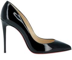 Best price on the market: Christian Louboutin Christian Louboutin Black Patent Leather Pumps Black Patent Leather Pumps, Black Stilettos, Black High Heels, Leather Shoes, Mens Fashion Wear, Fashion Boots, Fashion Hair, Trendy Mens Shoes, Shoe Deals