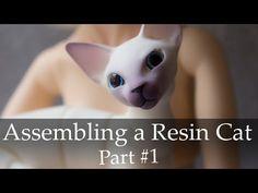 Assembling a Resin Cat / Part #1