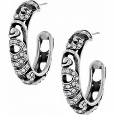 Anahita Post Hoop Earrings        From the Anahita Collection $47.00