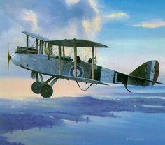 Airco De Havilland DH 9 by Paul Monteagle