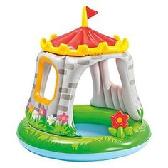 New 48 x 48 in. Royal Castle Inflatable Tod Toddler Baby Pool for Ages 1-3 Years #RoyalCastle