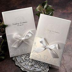 Satin Ribbon Wedding Pocket Invitation Kit / GA1016, http://www.amazon.com/dp/B00KXSQZ0I/ref=cm_sw_r_pi_awdl_tLp4ub010BF53