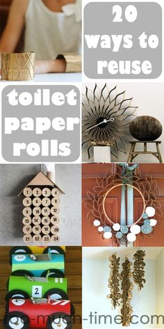 Main Ingredient Monday- Toilet Paper Rolls